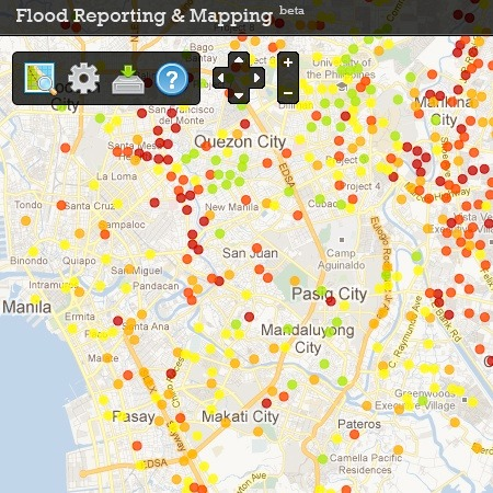 Image of flood hazard map by nababaha.com
